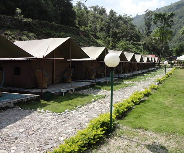 Camp Hideaways a campsite of Indiathrills