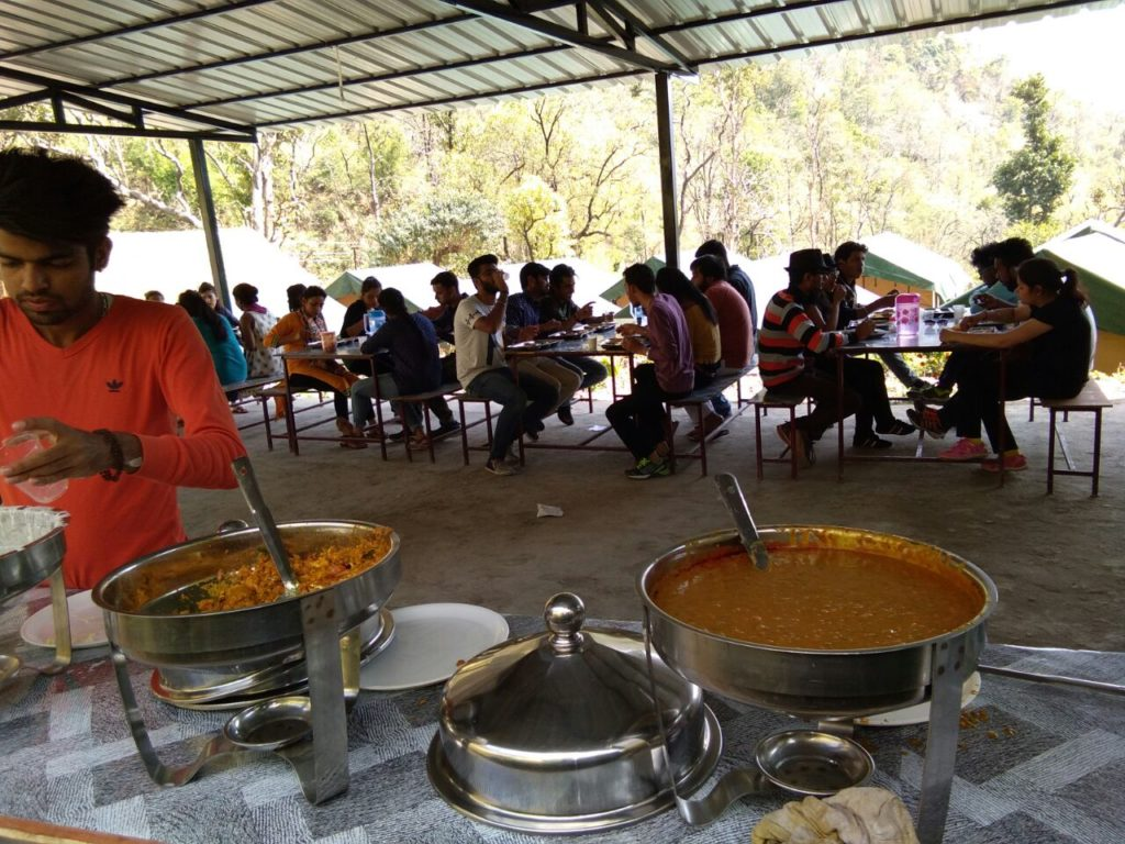 India Thrills Camps's Canteen