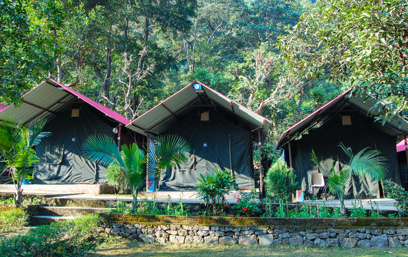 India Thrills Deluxe Camp Stay in Pebbles Resort