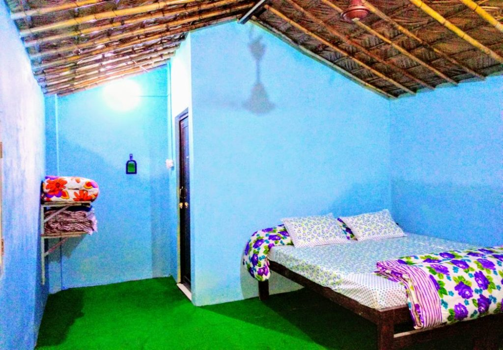 Inside view of Cottage at India Thrills