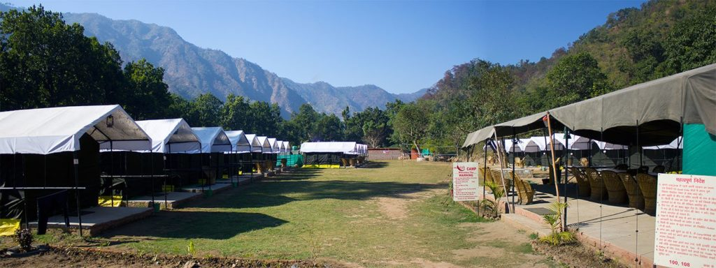 open view of redchilli camps a India Thrills product