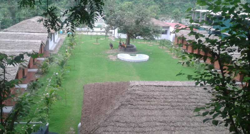 Lawn of ojas camps