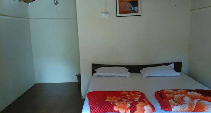 Bed in the room of ojas camps
