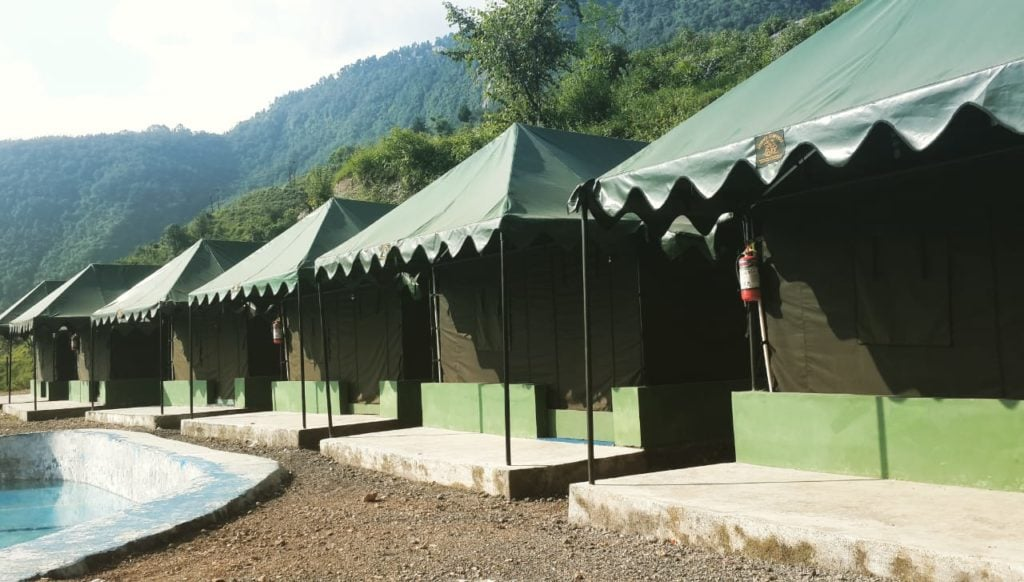 Swiss Camps at Mussorie Camp Resort