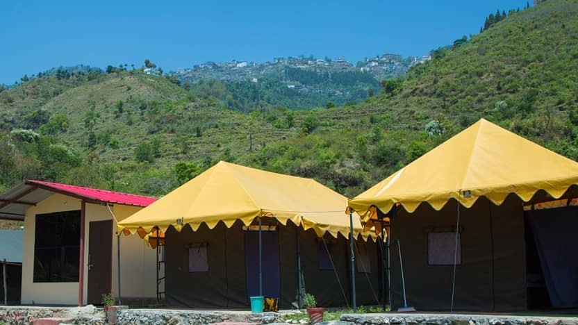 Camping In Mussoorie, Bhattafall