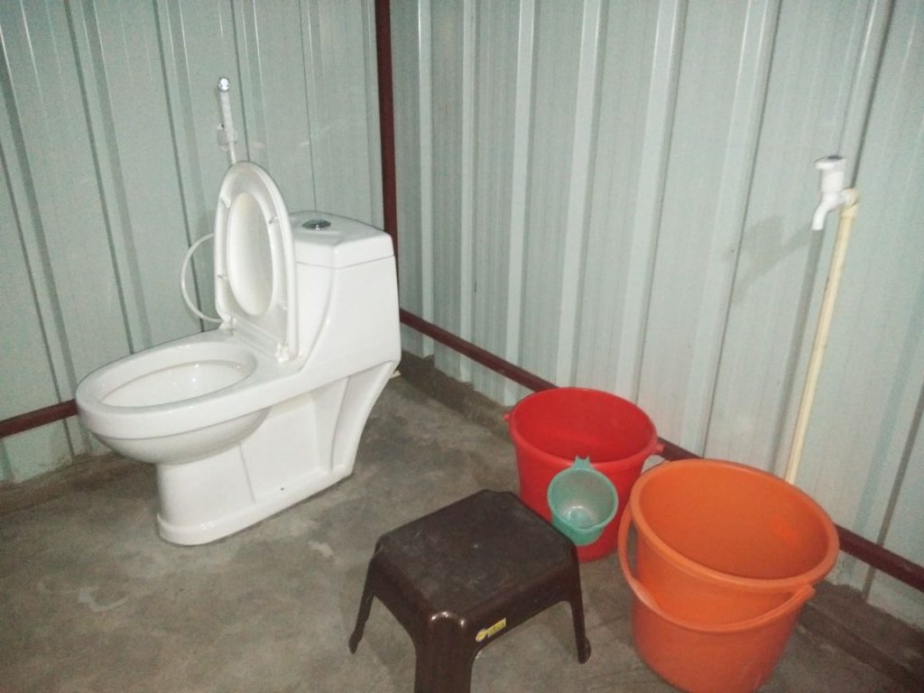 Washroom1 at Aquasplash Camps
