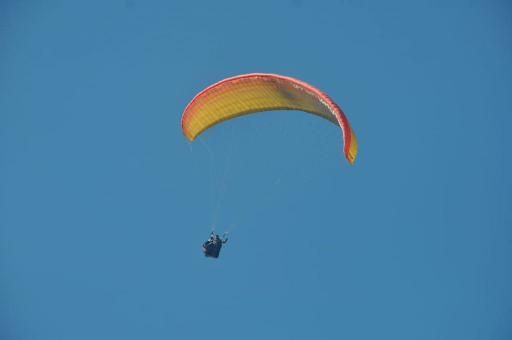 Paragliding adventure in Dhobi