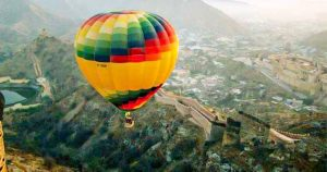 Hot Air Balloon Ride In Jaipur