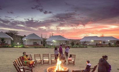 Camping In Pushkar