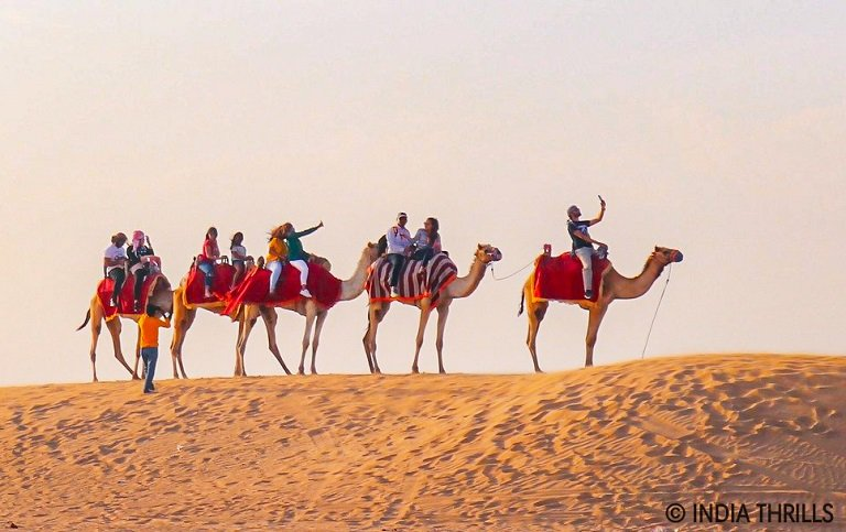 Camel Back Safari In Bikaner Desert