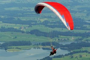 paragliding in rajasthan