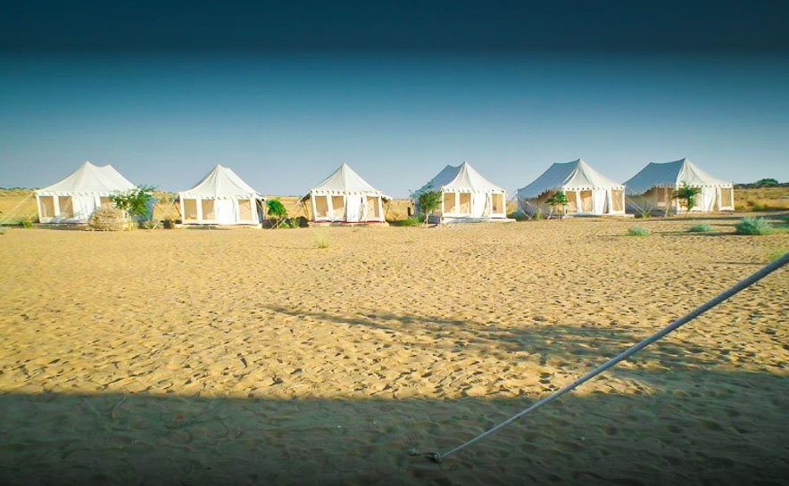 Camping in Jaisalmer with Jee Safari