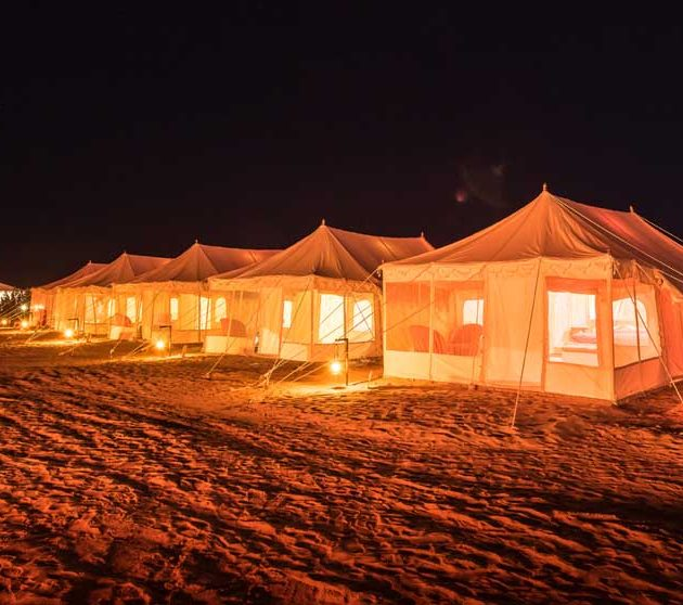 Sky desert safari camp jaisalmer