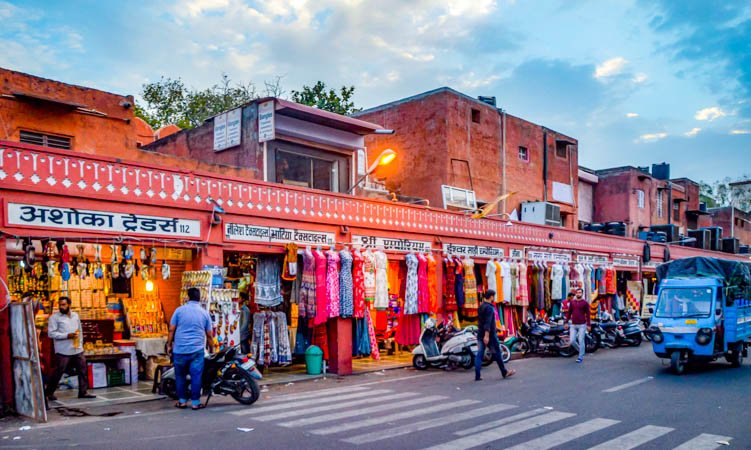 Shopping at Jaipur City Market