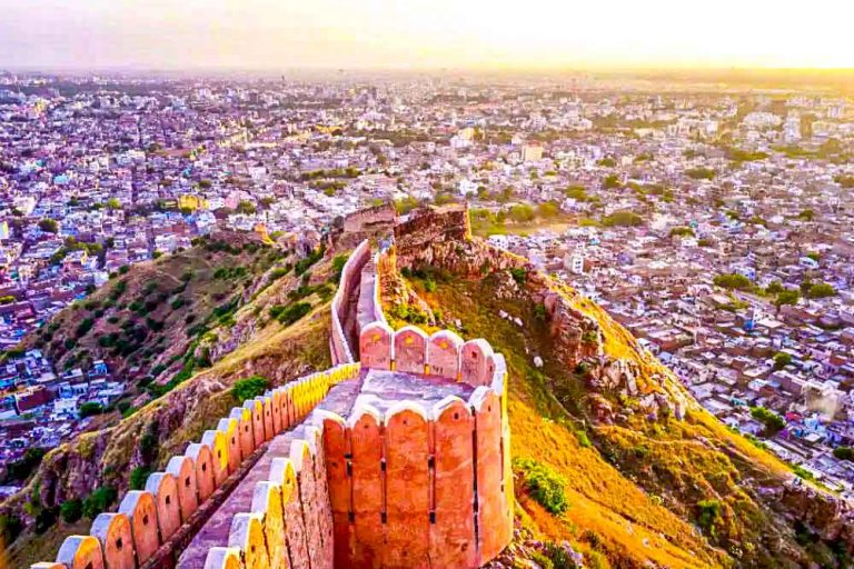 Sunset view from Nahargarh Fort