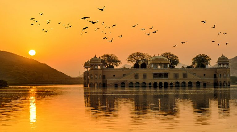 Sunset view Jal Mahal