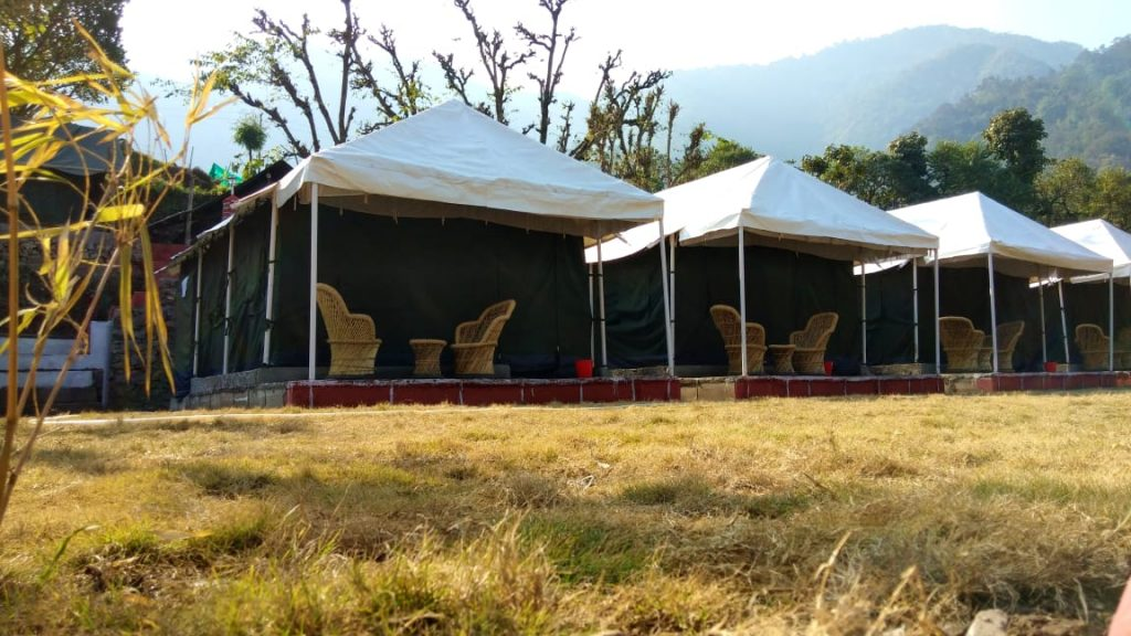 Camp in Shivpuri
