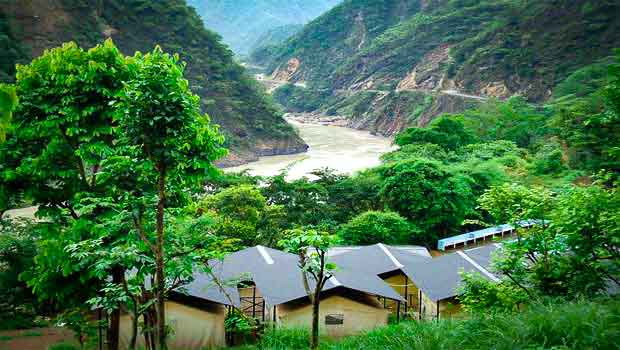 Jung;le Camping in Rishikesh