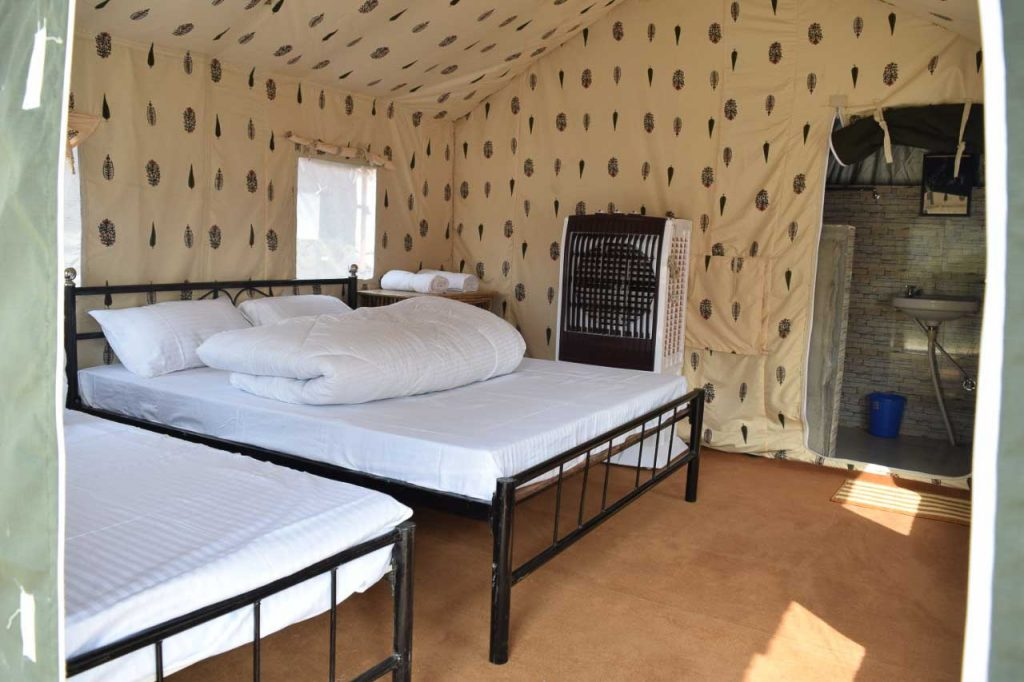 Bedroom Cross fire camp