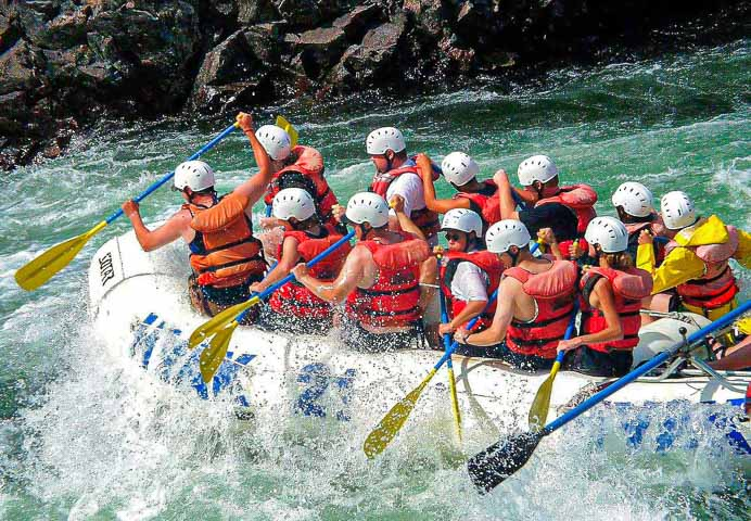 Combo of Rafting and Camping package