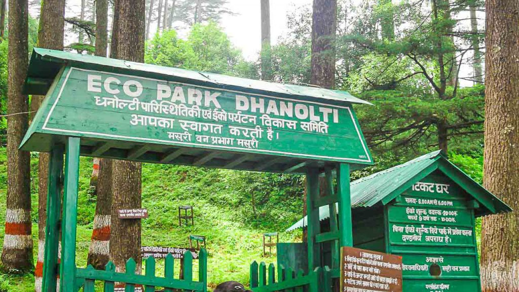 Dhanolti eco park nearby mussoorie