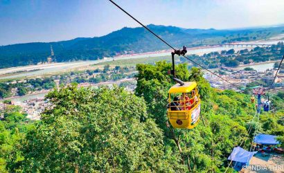 Cable car in Chandi Devi, Haridwar
