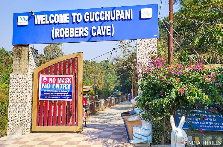 Gucchu Pani Robbers cave entry gate
