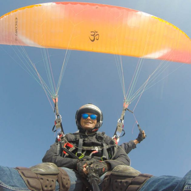 Paragliding experience in Rajasthan