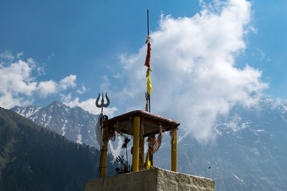 Temple at Triund Top
