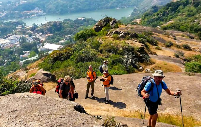 Hiking in the hills of Mount Abu