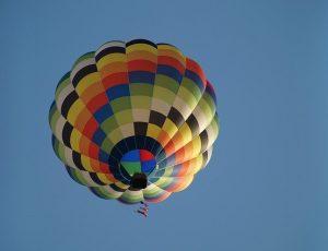 hot air balloon adventure in rishikesh